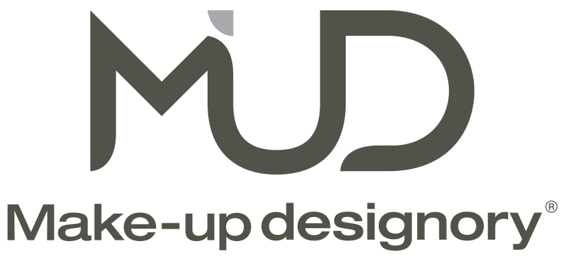 mud mak-up designory logo dark