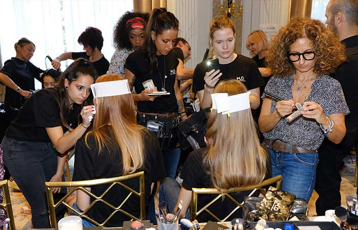 hair stylist event corso mud